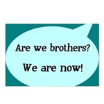 We're Brothers Now Postcards (Package of 8)