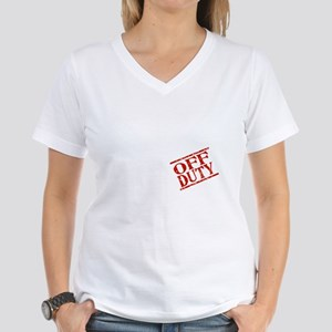 Off Duty Tax Preparer Women's Dark T-Shirt