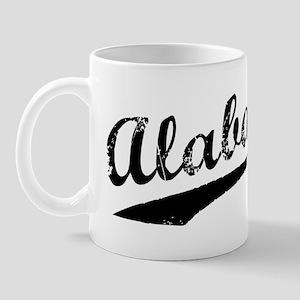 Vintage Alabama (Black) Mug