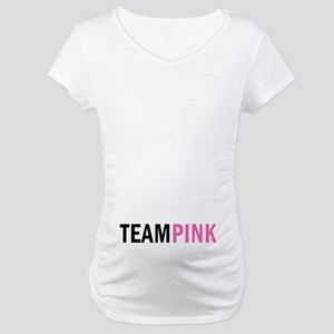 Team Pink Maternity Maternity T-Shirt