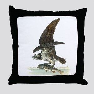 Osprey Bird Throw Pillow