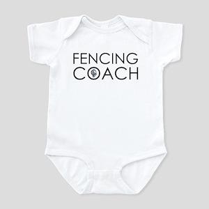 Fencing Coach Infant Bodysuit