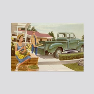 1954 GMC Pickup Rectangle Magnet