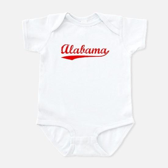 Vintage Alabama (Red) Infant Bodysuit