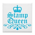 Stamp Queen BL Tile Coaster