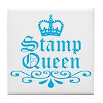 Stamp Queen BL Tile Coaster