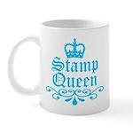 Stamp Queen BL Mug