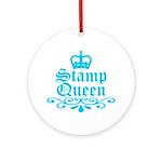 Stamp Queen BL Ornament (Round)