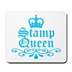 Stamp Queen BL Mousepad