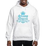 Stamp Queen BL Hooded Sweatshirt