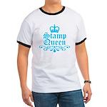 Stamp Queen BL Ringer T