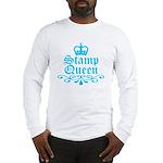 Stamp Queen BL Long Sleeve T-Shirt