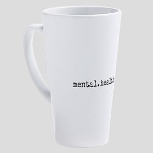 mental.health.aWEARness 17 oz Latte Mug