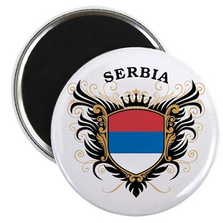Serbia Magnet