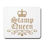 Mocha Stamp Queen Mousepad