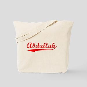 Vintage Abdullah (Red) Tote Bag