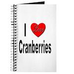 I Love Cranberries Journal