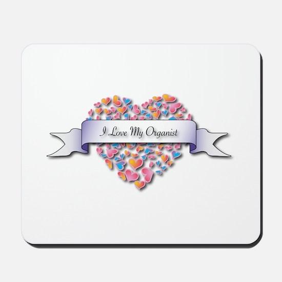 Love My Organist Mousepad