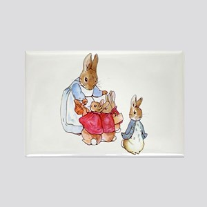Beatrix Potter - Peter Rabbit : Mrs. Rabbi Magnets