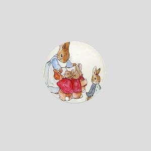 Beatrix Potter - Peter Rabbit : Mrs. R Mini Button