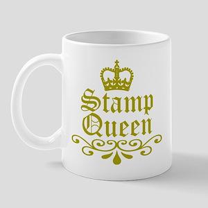 Gold Stamp Queen Mug