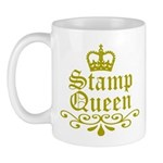 Gold Stamp Queen Mug
