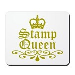 Gold Stamp Queen Mousepad