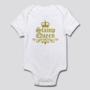 Gold Stamp Queen Infant Bodysuit