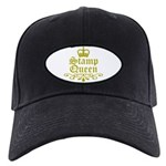 Gold Stamp Queen Black Cap