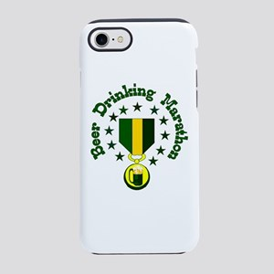 Beer Drinking Marathon iPhone 8/7 Tough Case