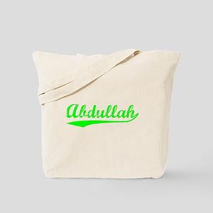 Vintage Abdullah (Green) Tote Bag
