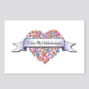 Love My Ophthalmologist Postcards (Package of 8)