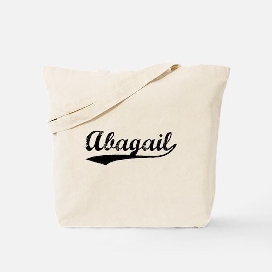 Vintage Abagail (Black) Tote Bag