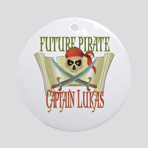 Captain Lukas Ornament (Round)