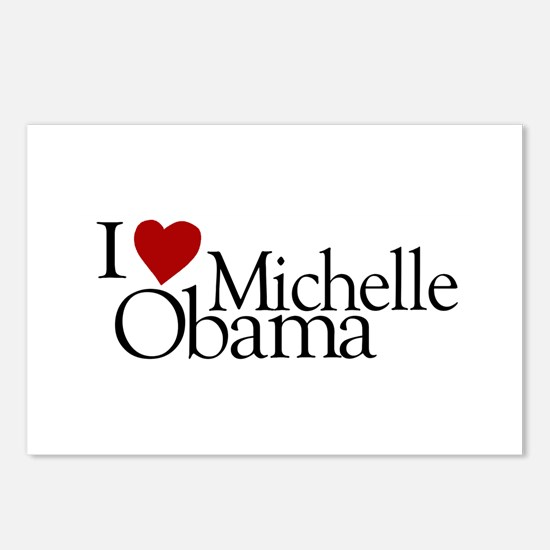 I Love Michelle Obama Postcards (Package of 8)