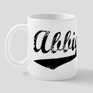 Vintage Abbigail (Black) Mug