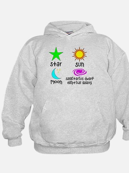 Astronomy for Smart Babies Hoody