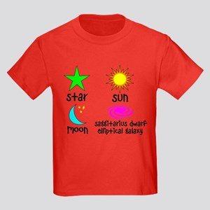 Astronomy for Smart Babies Kids Dark T-Shirt