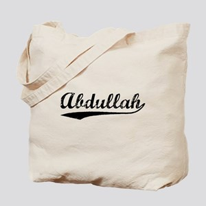 Vintage Abdullah (Black) Tote Bag