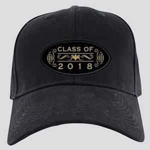 Class Of 2018 Black Cap with Patch