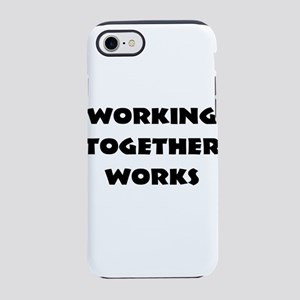 Teamwork inspiration iPhone 8/7 Tough Case