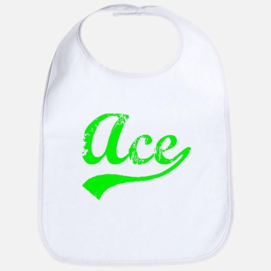 Vintage Ace (Green) Bib