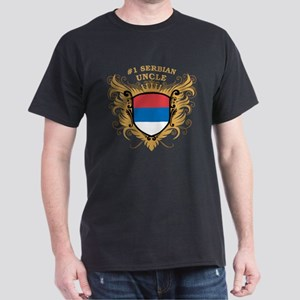 Number One Serbian Uncle Dark T-Shirt