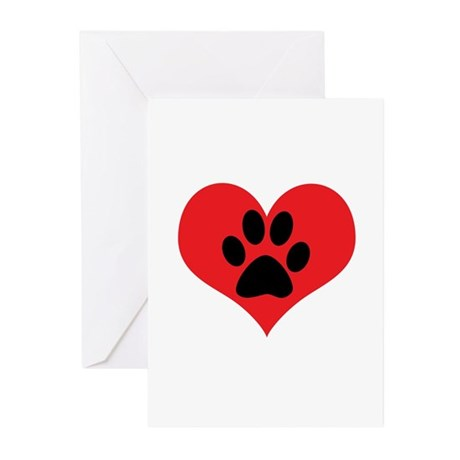 Animals Greeting Cards (Pk of 10)