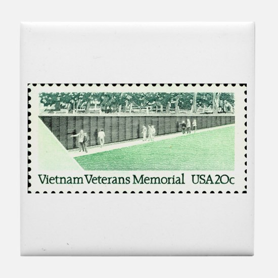 Funny Military police vietnam Tile Coaster