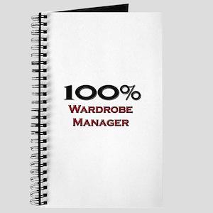 100 Percent Wardrobe Manager Journal