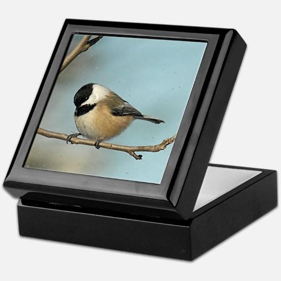 Chickadee Keepsake Box