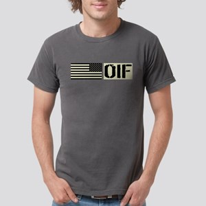 U.S. Military: OIF (Blac Mens Comfort Colors Shirt