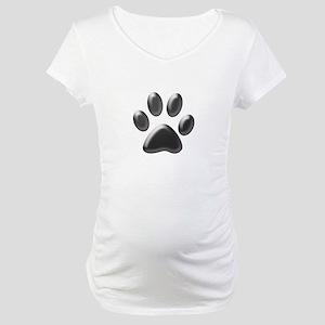 Paw Print Maternity T-Shirt