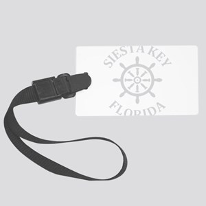 Summer siesta key- florida Large Luggage Tag